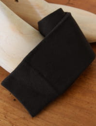 Chaussette brun acajou