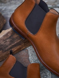 L'Homme Pressé commando leather