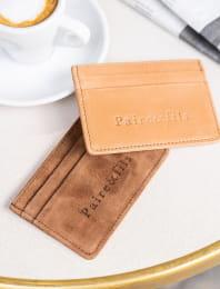 chocolate card case